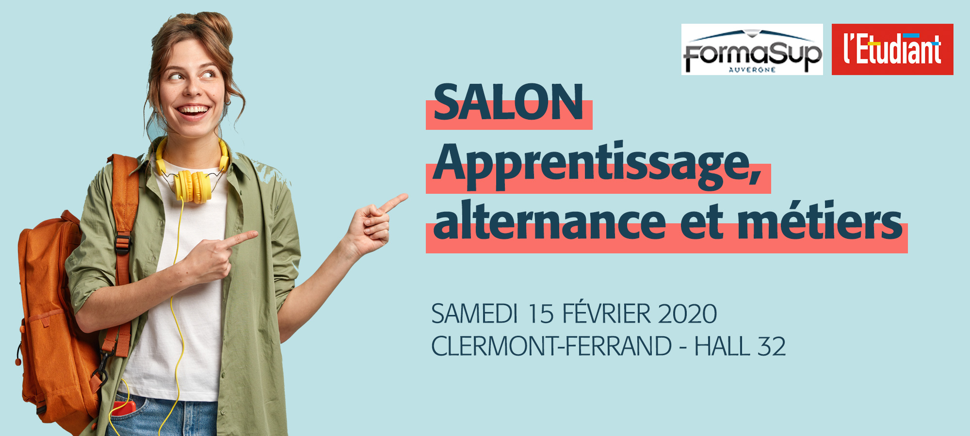 salon apprentissage alternance metiers clermont ferrand hall 32