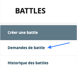 Battle week Coorpacademy : demandes de battle