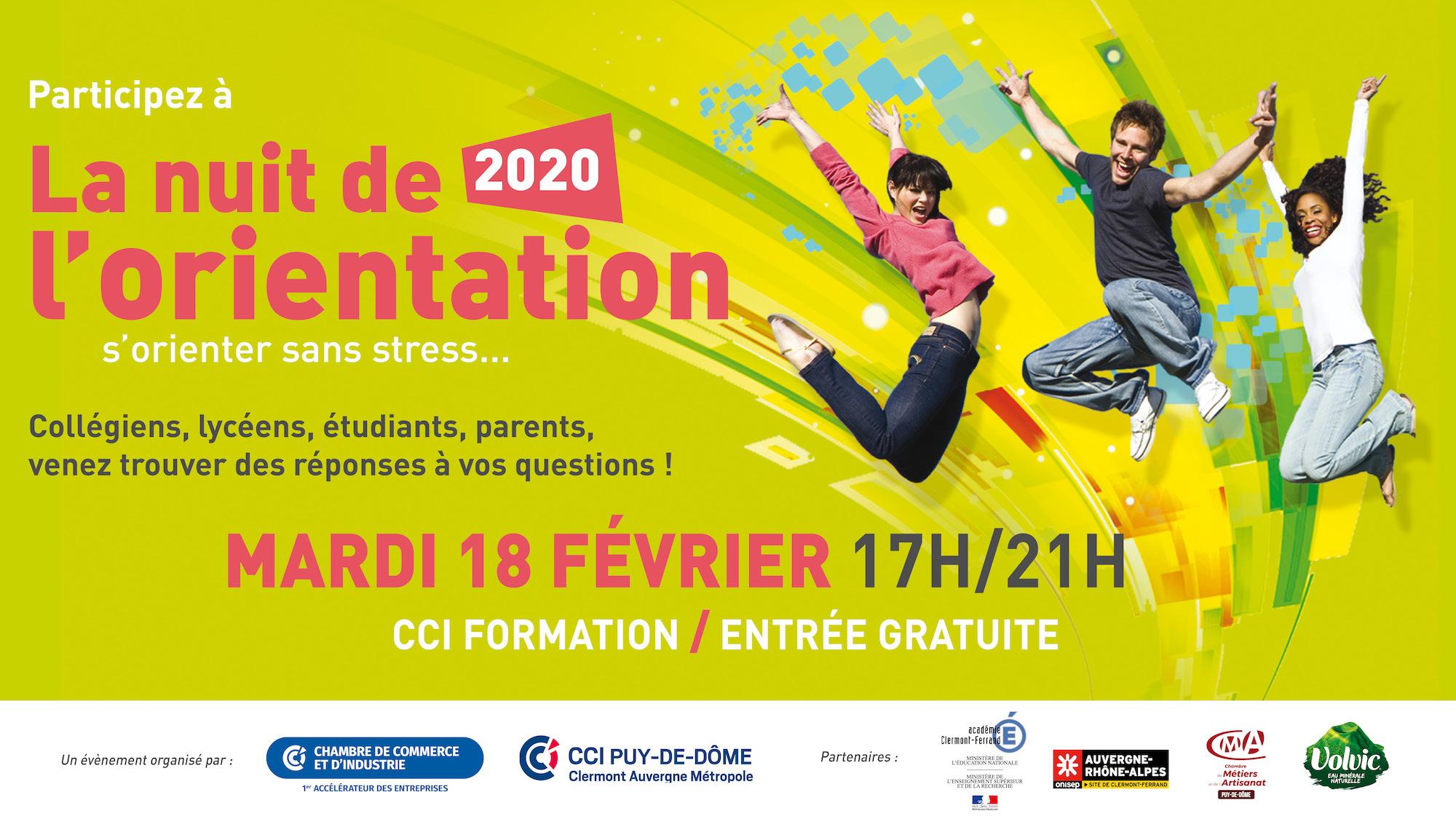 Nuit de l'orientation 2020