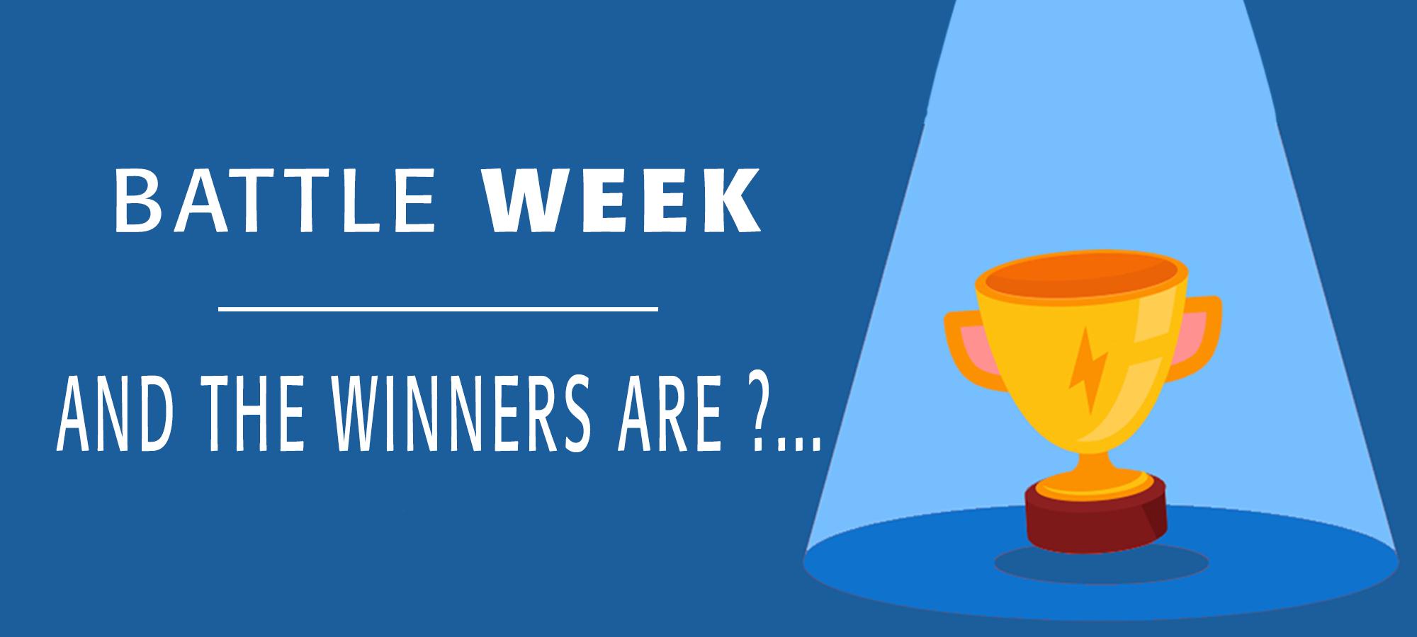 gagnants battle week #1