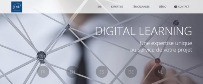 ENI plateforme digitale