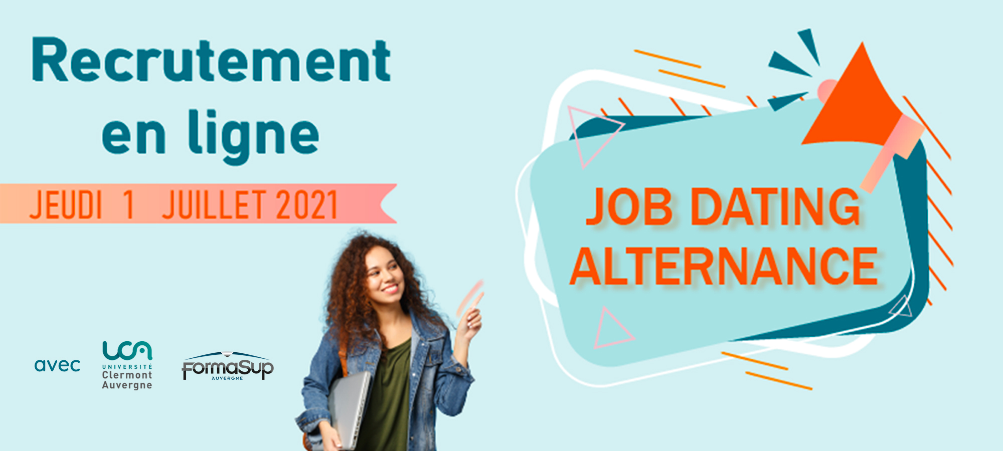 Job Dating Alternance UCA - FormaSup Auvergne